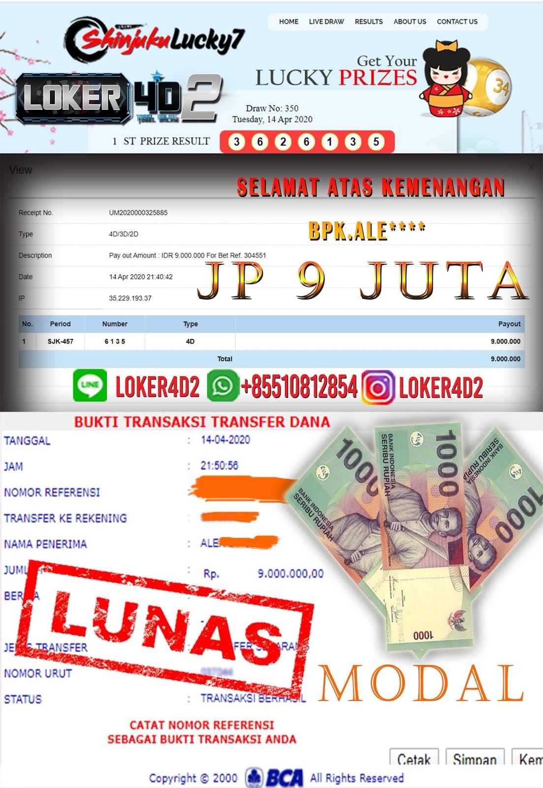 PASARAN SHINJUKU MEMANG MANTAP MODAL 3000 JADI 9 JUTA