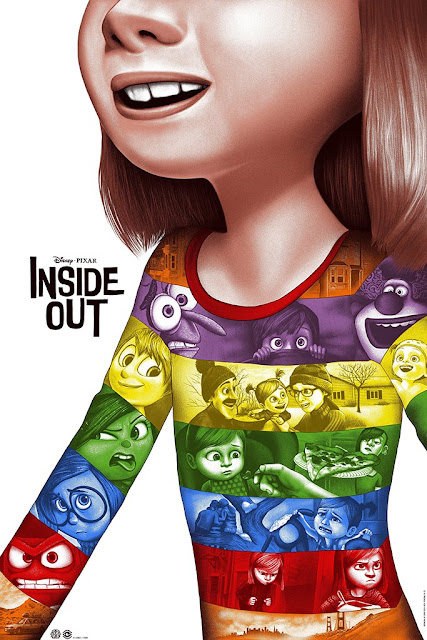 Inside Out Mondo Poster by Sara Deck