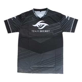 Kaos Baju Gaming Jersey Team Secret 2017