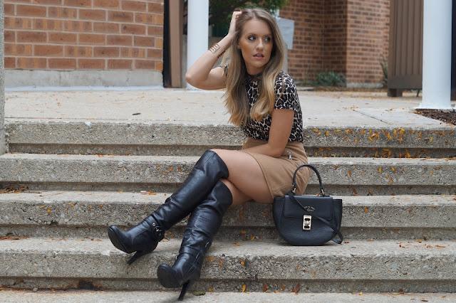 Ways to Wear OTK Boots