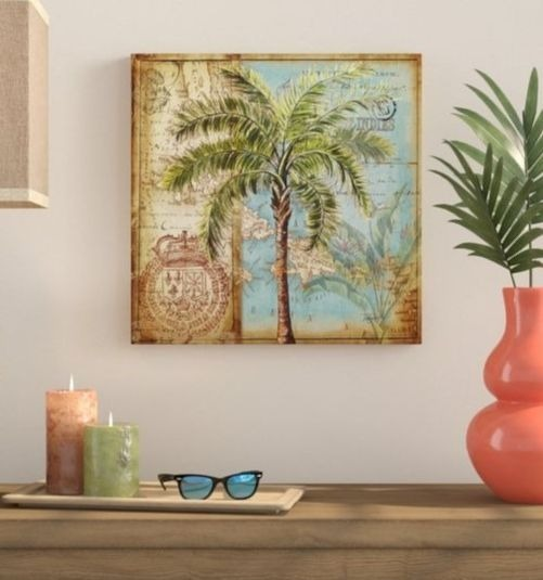 Tropical Palm Wall Art