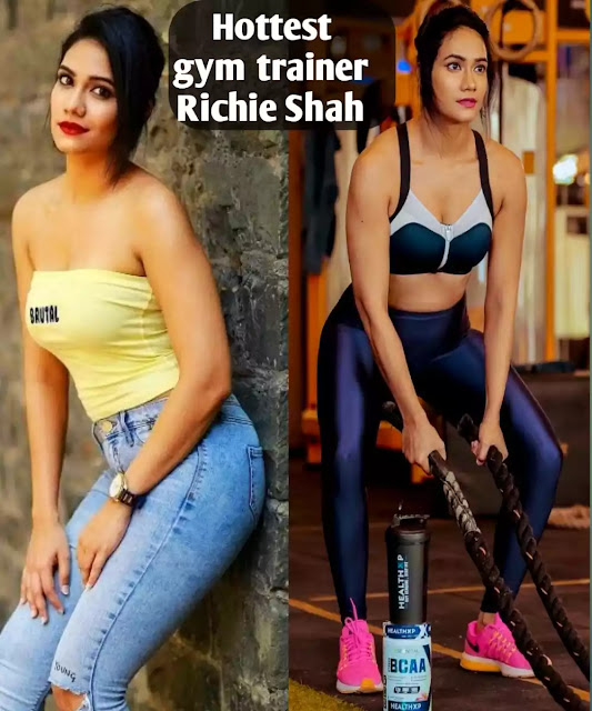 Richie Shah girl is India's hottest gym trainer, 1-hour fee is 2000 rupees