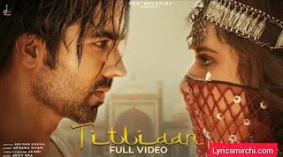 Titliaan तितलियां Song Lyrics | Harrdy Sandhu | Afsana Khan