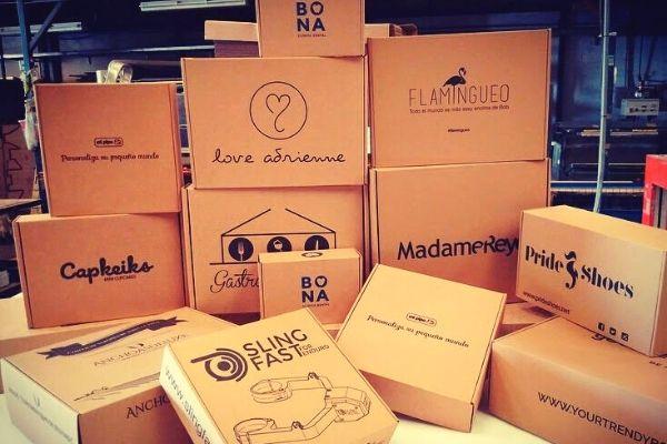 Cajas de cartón para el comercio electrónico