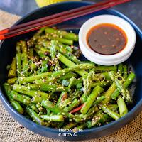 Stir-Fried Sesame Asparagus