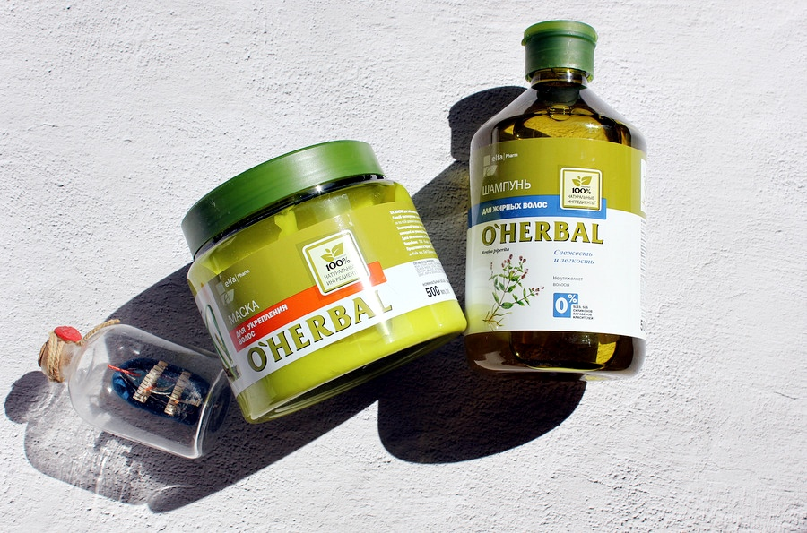 O'Herbal Маска для укрепления волос Hair Mask / обзор, отзывы