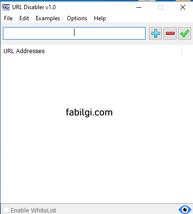 Web Sitesi Engelleme Programı URL Disabler İndir Yeni