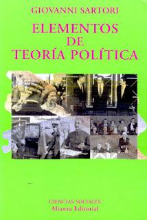Elementos de teoría política - G. Sartori