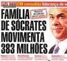 APODRECETUGA corrupção sócrates esconde 300 milhões