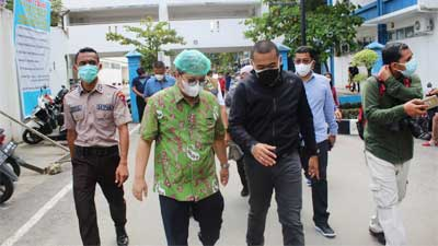 Audy Joinaldy di RSUP M Djamil Padang