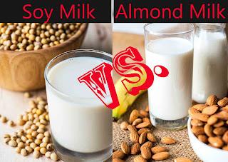 Soy Milk vs Almond Milk | Benefits of Soy Milk for Females