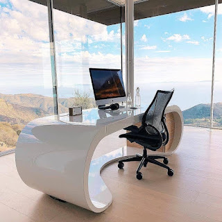 7 Dekorasi Suasana Ruang Kerja atau Belajar Ini, Bisa Bikin Betah dan Santuy