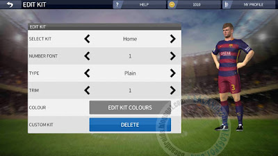 download Game Dream League Soccer 16 MO koin