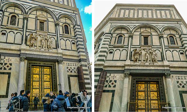 Fachada do Batistério de Florença
