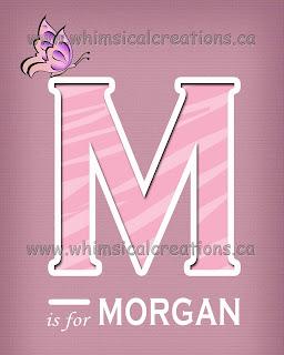 Whimsicalcreations Ca Letter Wall Art Letter Name Art