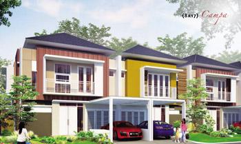 lingkar warna: 3 denah rumah minimalis ukuran 8x17 meter 2