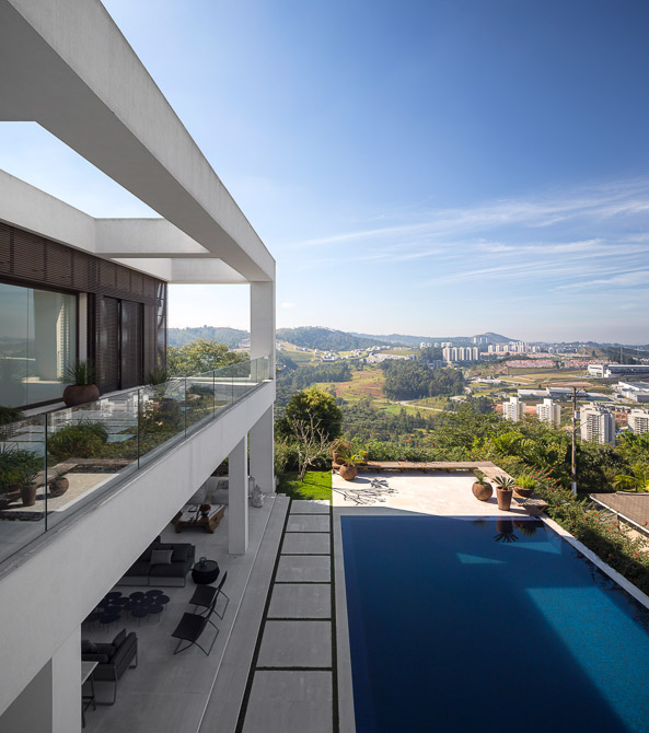 City view from Modern Jaragua Residence