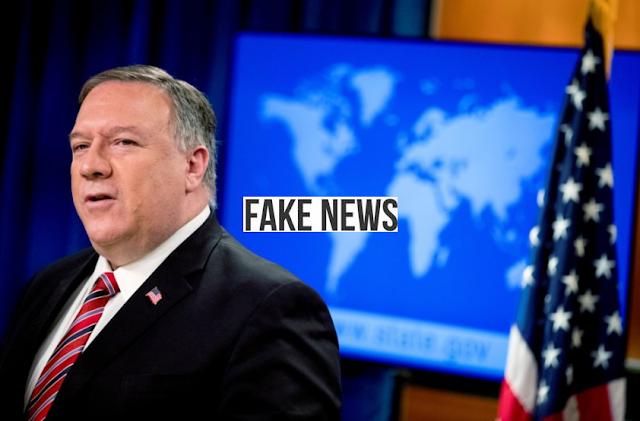 Documento do Departamento de Estado dos EUA sem peso nem credibilidade