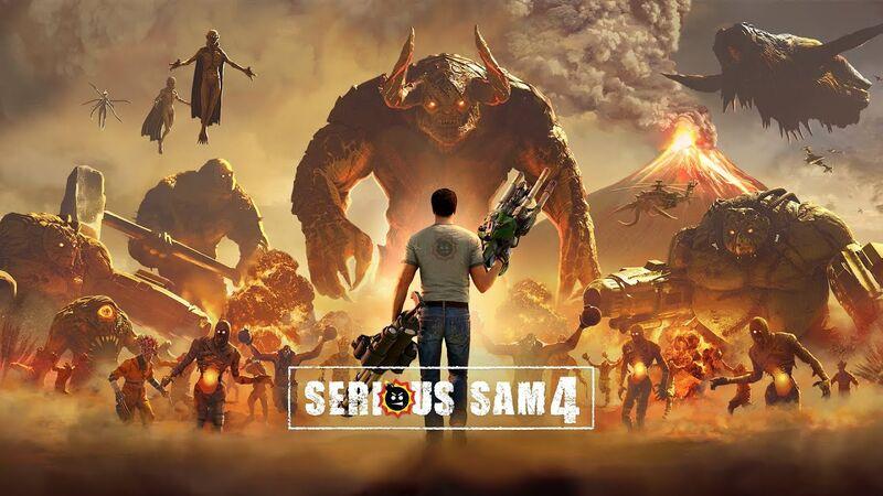 Ανακοινώθηκε το Serious Sam 4!!