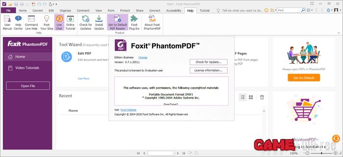Foxit PhantomPDF Business v9.7.1.29511 Full
