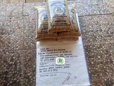 Benih Padi Pesanan   JENAL ABIDIN Indramayu, Jabar.    (Sebelum di Packing).