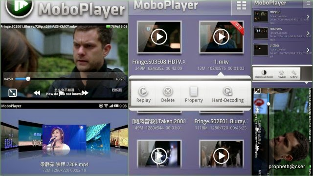 best free android video music player apps-moboplayer