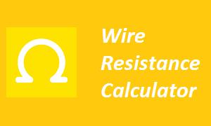 Wire Resistance Calculator