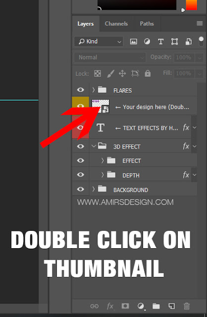 Photoshop Text Mockup