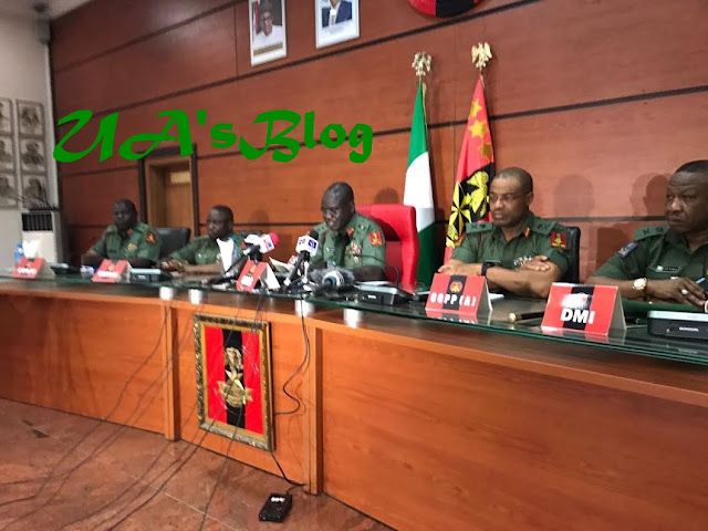 Dapchi: Shake-up in army as new provost marshal, DMI appointed