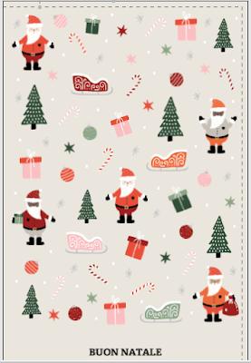 Biglietto di auguri: spirito natalizio
