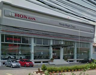 HONDA MEGAH CINERE / HONDA CINERE / HONDA SETIANITA