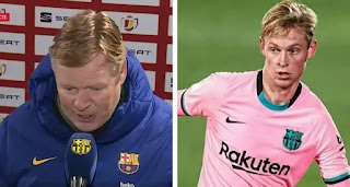 'This version of De Jong is more complete than at Ajax': Barca manager Koeman
