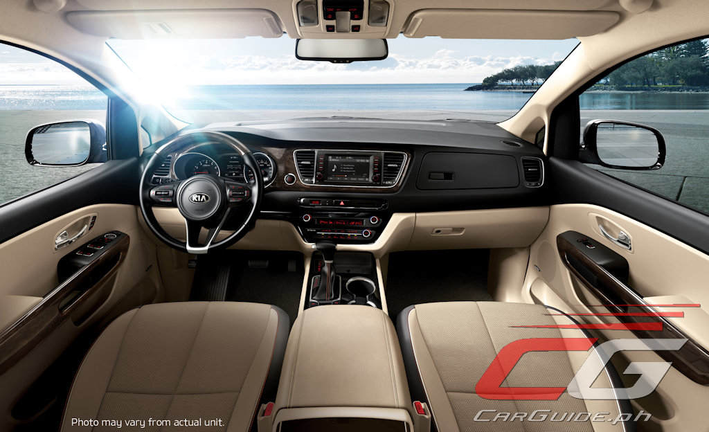 Kia Grand Carnival Now Available With Optional Leather Seats