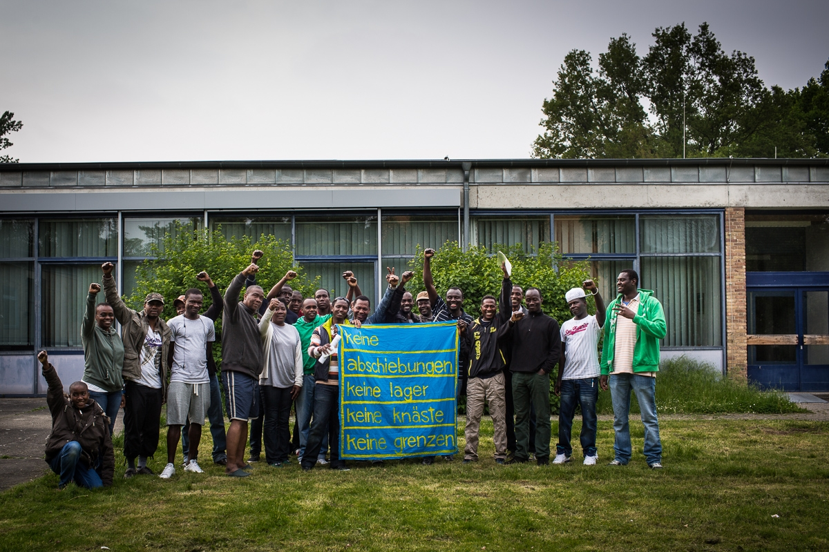 Berlin Braunschweig Bus Refugees Liberation Bus Tour In Niedersachsen Took Place 16th To