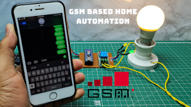 Home Automation using GSM Module