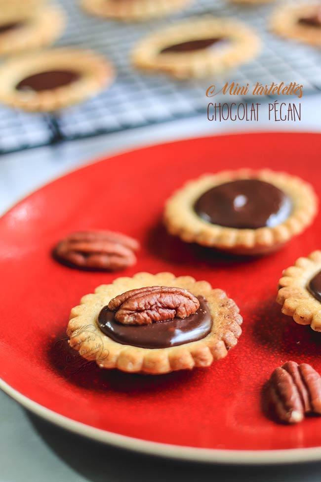 recette mini tartelette chocolat