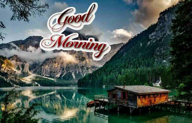beautiful good morning image of nature hills