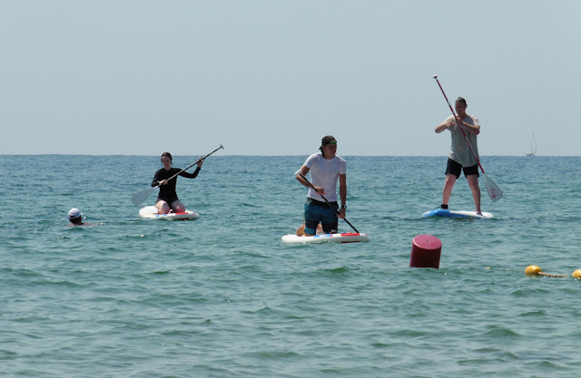 Stand Up Paddling with Sun Sea Adventures Costa Blanca