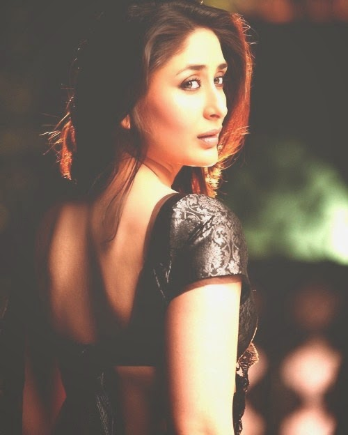 kareena kapoor hot backless hd images in transparent saree