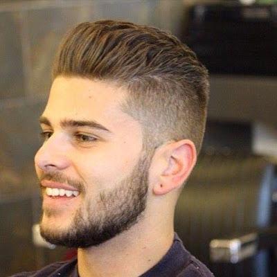 قصات شعر شبابي كتالوج شعر للحلاقين رائع ، حلقات شعر كوافير رجالى