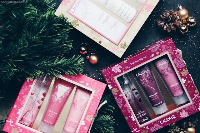 Les jolis coffrets de Noël par Caudalie ♥