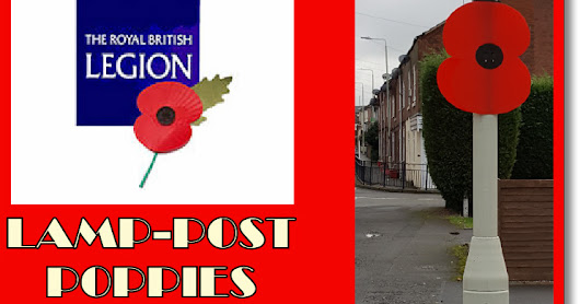 MIDDLEWICH LAMP-POST POPPIES 2018