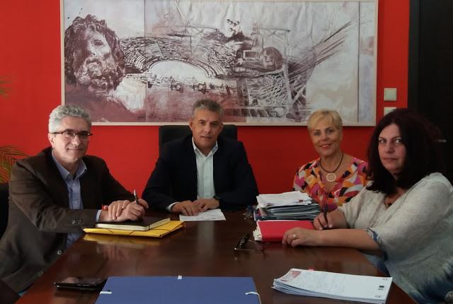 Συνάντηση του Περιφερειάρχη Θεσσαλίας κ. Αγοραστού με τη διοίκηση του ΕΚΑΒ