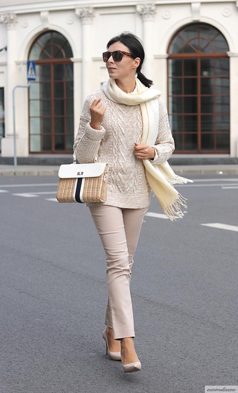 Stylizacja ze swetrem 2017