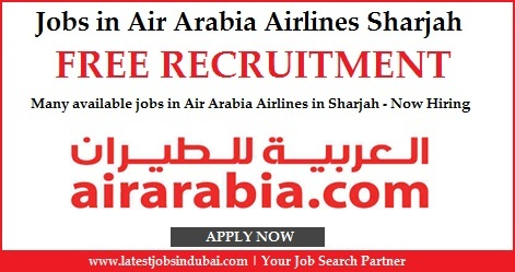 Jobs in Air Arabia Airlines Sharjah 2016