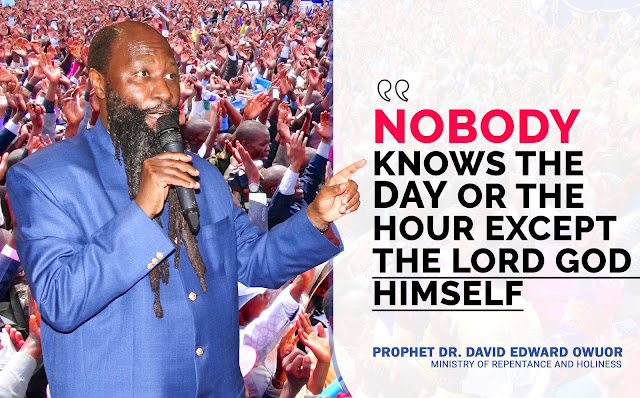 Prophet Owuor's Army Takes Over Twitter To Warn Sinful Kenyans
