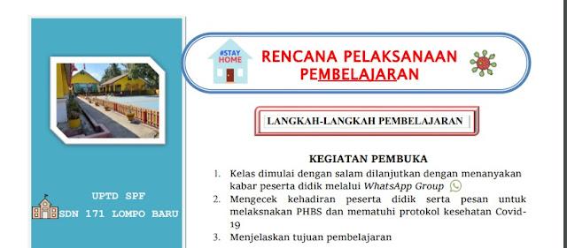 Rpp Daring Pai Kelas 4 Tema I Qs Al Falaq Mari Membaca