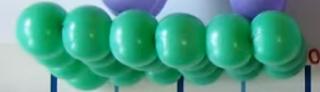 Unterlage für Ballonfiguren.