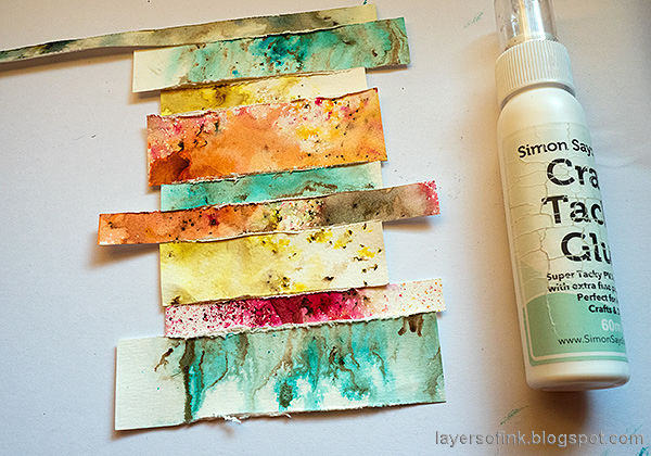 Layers of ink - Nautical Tag Tutorial by Anna-Karin Evaldsson