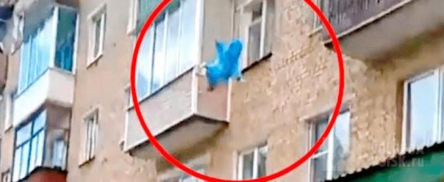 В Москве подросток выбросил с седьмого этажа новорождённую сестру